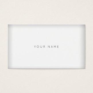 White Gray Minimalism Simply Vip Business Card