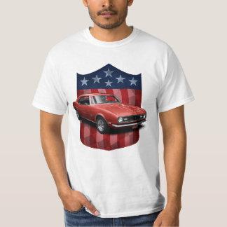 White great American Shield Camaro T-Shirt