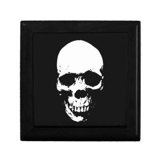 White Grim Reaper Skull Gift Box