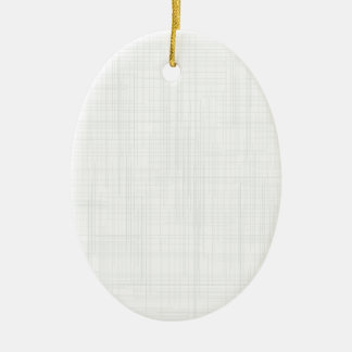 White Grunge Effect Background Ceramic Ornament
