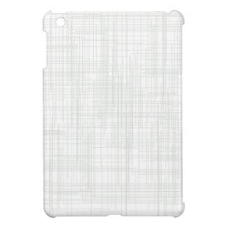 White Grunge Effect Background iPad Mini Cover
