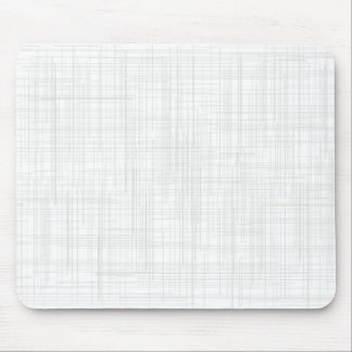 White Grunge Effect Background Mouse Pad