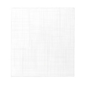 White Grunge Effect Background Notepad