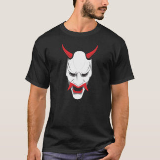 White Hannya Mask T-Shirt