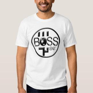"White Heavyweight T-shirt ""100% Cotton"" - Boss Ent"