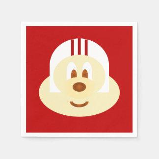 White Helmet 鮑 鮑 Napkin Disposable Napkins