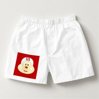 White Helmet 鮑 鮑 Short Boxers