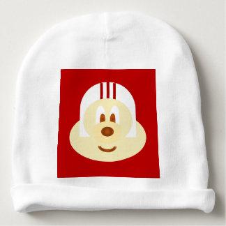 White Helmet 鲍 鲍 Baby Cotton Beanie Baby Beanie