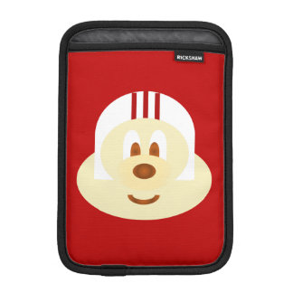 White Helmet 鲍 鲍 Ipad Mini  Rickshaw Sleeve