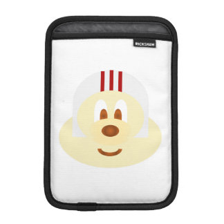 White Helmet 鲍 鲍 Ipad Mini  Rickshaw Sleeve w/ WB