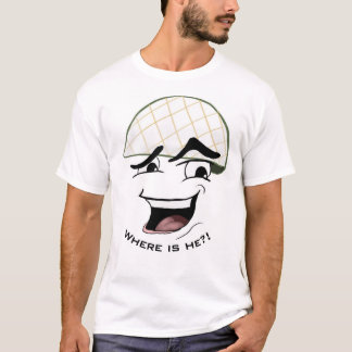 """White Helmet"" T-Shirt"