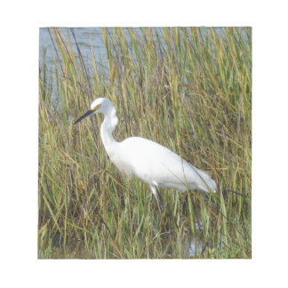 White Heron Notepad