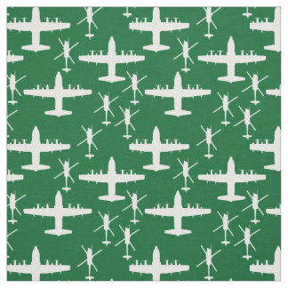 White HH-60 and HC-130 Patterned Fabric