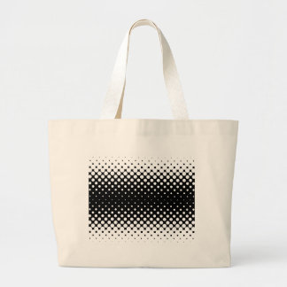 White Holes Background Large Tote Bag