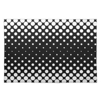 White Holes Background Placemat