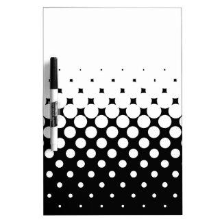 White Holes Dry Erase Board