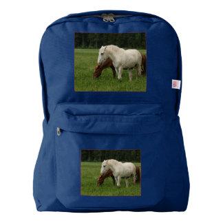 White Horse Animal Backpack