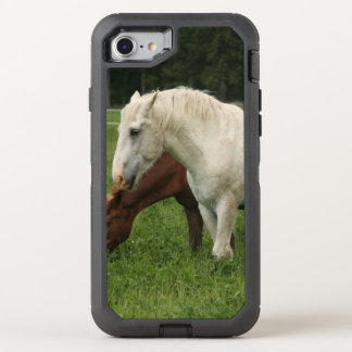 White Horse Animal OtterBox Defender iPhone 7 Case