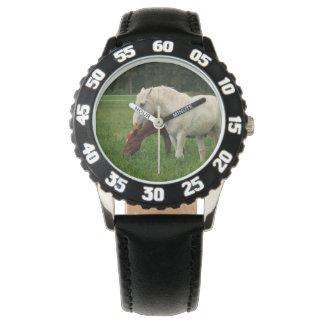 White Horse Animal Wristwatch