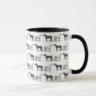 White Horse/Black Horse Mug