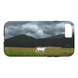 White Horse in a Glorious Dream Phone Case