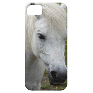 White horse iPhone 5 cover