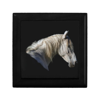 White Horse Lover Equine Gift Box