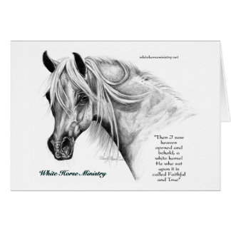 White Horse Ministry Note Card