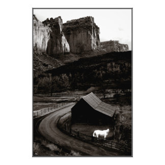 White Horse Monochrome Canyonlands - Open ed print
