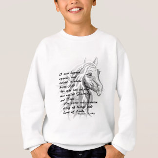 White Horse of a King Sweatshirt
