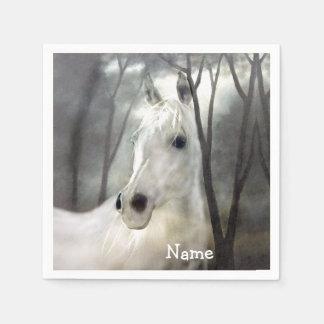 White Horse Paper Napkins