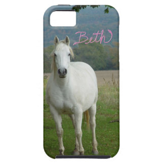 White horse Personalized Beth iPhone 5 Case