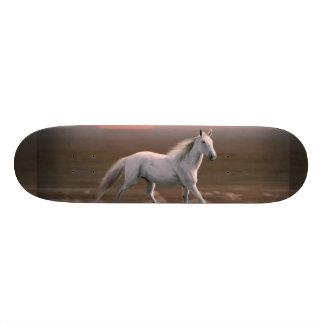 White horse skate board decks