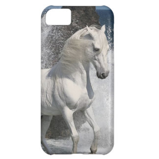 White Horse Surf Cover For iPhone 5C