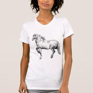 White horse tee