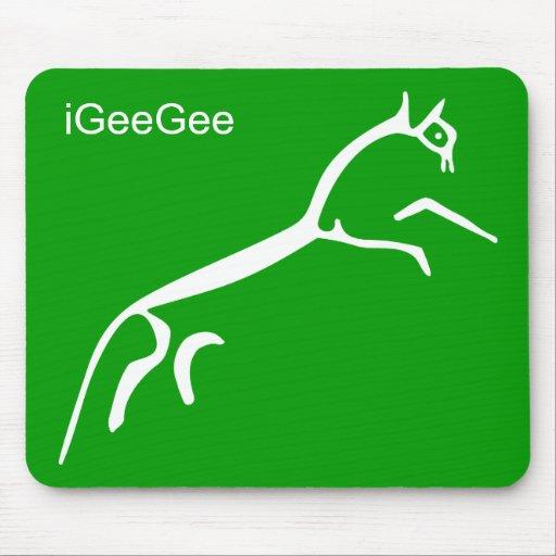 White Horse (Uffington Castle) - iGeeGee Mouse Mats