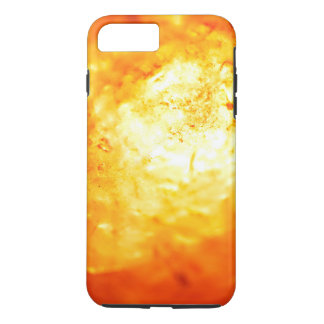 White Hot Burning Volcanic Lava iPhone 7 Plus Case