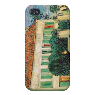 White House at Night - Van Gogh (1890) iPhone 4 Covers