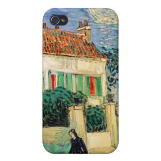 White House at Night, Vincent Van Gogh iPhone 4 Case
