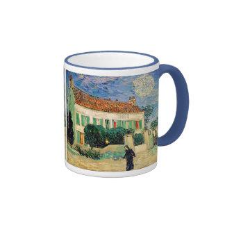 White House at Night, Vincent Van Gogh Ringer Mug