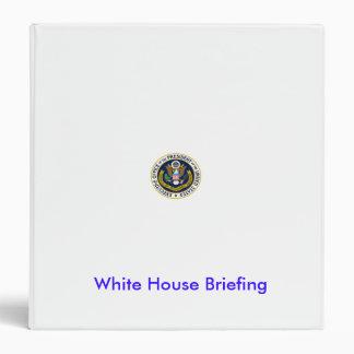 White House Briefing Binder
