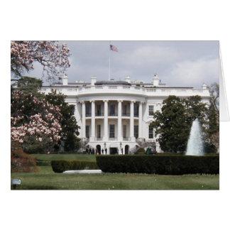 White house card