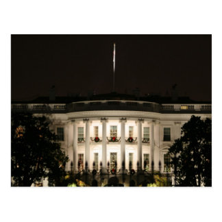 White House celebrates Christmas Postcard
