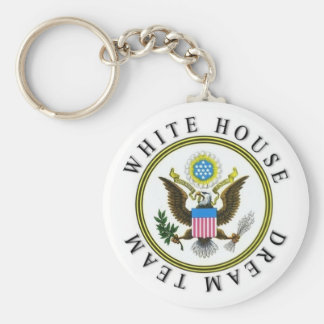 White House Dream Team Keychain
