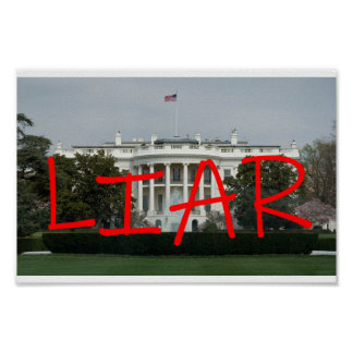 White House Liar Poster