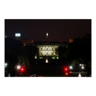 White House - Night Poster