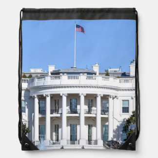 White House of the United States - Washington DC Drawstring Bag