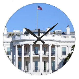 White House of the United States - Washington DC Large Clock