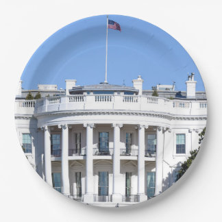 White House of the United States - Washington DC Paper Plate