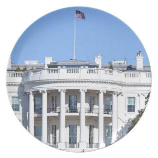 White House of the United States - Washington DC Plate